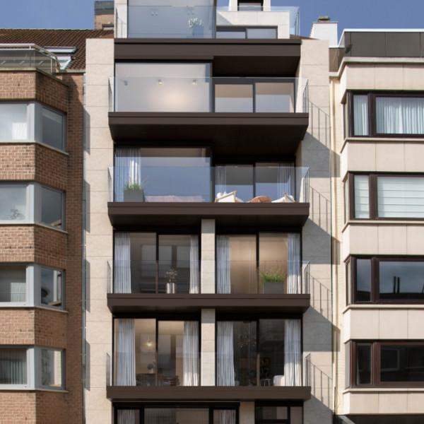 Residentie Renardo – nieuw te bouwen appartement 2.2 met 1/2 slaapkamers.
