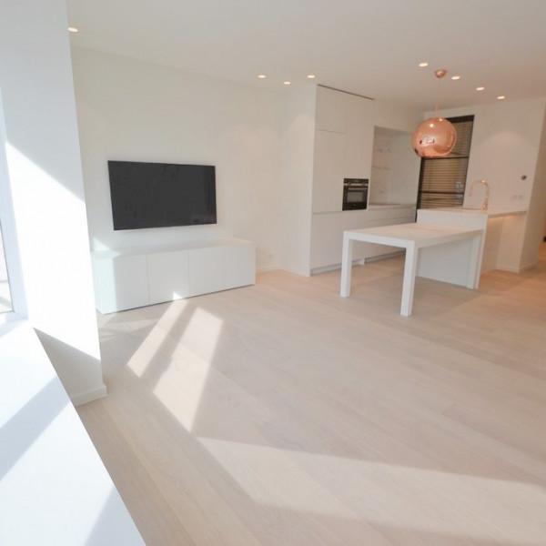 Renovatieproject van een appartement vlakbij Zee en het Rubensplein.